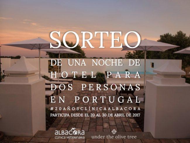 Sorteo noche hotel Portugal
